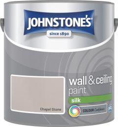 Johnstone's Wall & Ceiling Silk 2.5L Chapel Stone