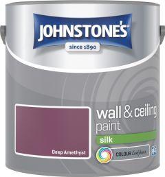 Johnstone's Wall & Ceiling Silk 2.5L Deep Amethyst
