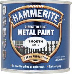 Hammerite Metal Paint Smooth 250ml White
