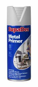 SupaDec Metal Primer Spray 400ml Grey