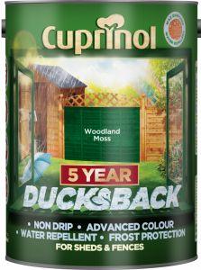 Cuprinol Ducksback 5L Woodland Moss