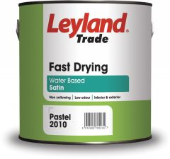Leyland Trade Fast Drying Satin 2.5L Brilliant White