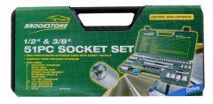 Brookstone Socket Set 51 Piece