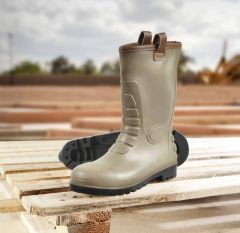 Glenwear Stirling PVC Rigger Safety Boot Size 6