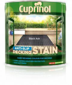 Cuprinol Anti Slip Decking Stain 2.5L Black Ash