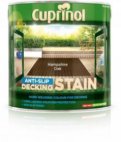 Cuprinol Anti Slip Decking Stain 2.5L Hampshire Oak