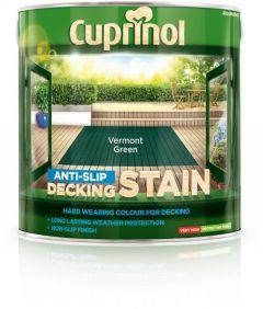 Cuprinol Anti Slip Decking Stain 2.5L Vermont Green