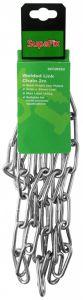 SupaFix Welded Link Chain 2m Steel Bright Zinc Plated 5x35mm