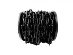 SupaFix Welded Link Chain 20m Steel Electro Plated Black 6x33mm