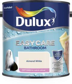Dulux Easycare Bathroom Soft Sheen 2.5L Almond White