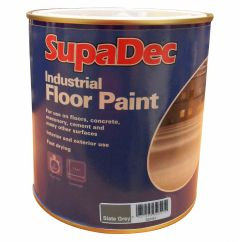 SupaDec Industrial Floor Paint 1L Slate Grey