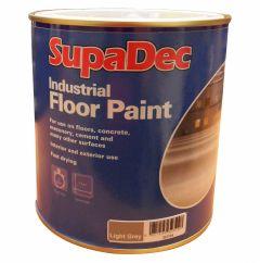 SupaDec Industrial Floor Paint 1L Light Grey