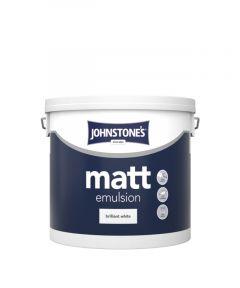 Johnstone's Matt - Brilliant White 5L