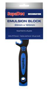 Supadec Emulsion Block Brush 30Mm X 120Mm