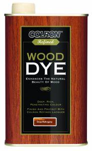 Colron Refined Wood Dye 250Ml Deep Mahogany