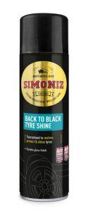 Simoniz Back To Black Tyre Shine 500Ml