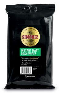 Simoniz Dashboard Wipes Matt Laminate Pack 20