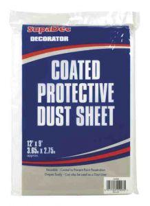 Supadec Coated Protective Dust Sheet 12 X 9Ft