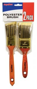 Supadec Polyester Brush Set Pck 2