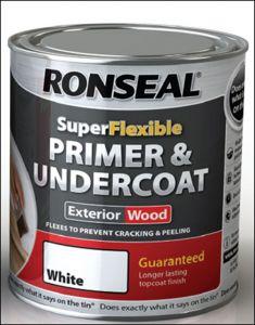 Ronseal Super Flexible Primer & Undercoat 750Ml White