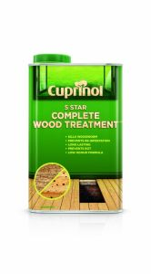 Cuprinol 5 Star Complete Wood Treatment 1L