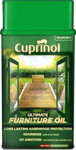 Cuprinol Ultimate Hardwood Furniture Oil 1L Clear
