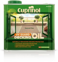Cuprinol Uv Guard Decking Oil 2.5L Natural Pine