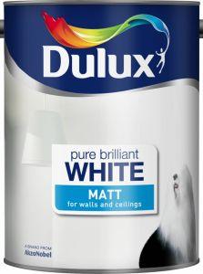 Dulux Matt 5L Pure Brilliant White