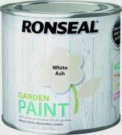 Ronseal Garden Paint 250Ml White Ash