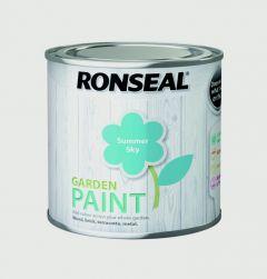 Ronseal Garden Paint 250Ml Summer Sky