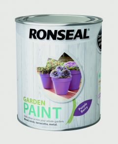 Ronseal Garden Paint 750Ml Purple Berry