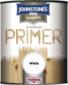 Johnstone's All Purpose Primer 750Ml White