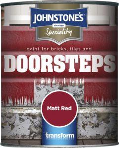 Johnstone's Brick Tile & Step Paint 750Ml Matt Red
