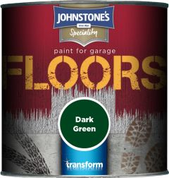 Johnstone's Garage Floor Paint Semi Gloss 250Ml Dark Green