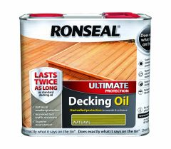 Ronseal Ultimate Protection Decking Oil 2.5L Natural Pine
