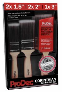 Prodec Corinthian Brush Set 6 Piece