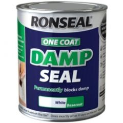 Ronseal One Coat Damp Seal White 2.5L