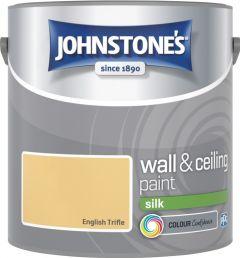 Johnstone's Wall & Ceiling Silk 2.5L English Trifle