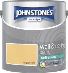 Johnstone's Wall & Ceiling Soft Sheen 2.5L English Trifle