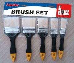 Supadec Brush Set 5 Piece