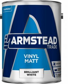 Armstead Trade Vinyl Matt 5L Brilliant White
