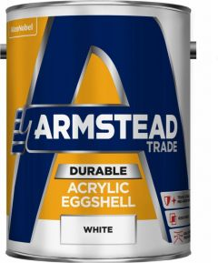Armstead Trade Durable Acrylic Eggshell 5L White