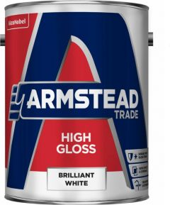 Armstead Trade High Gloss 5L Brilliant White