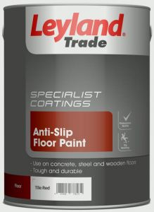 Leyland Trade Anti-Slip Floor Paint 5L Tile Red