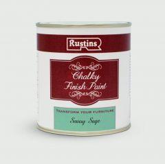 Rustins Chalky Finish 500Ml Savoy Sage