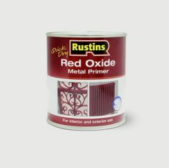 Rustins Quick Drying Red Oxide Primer 1L
