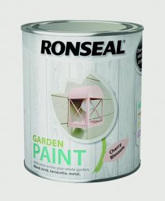 Ronseal Garden Paint 750Ml Cherry Blossom