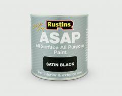 Rustins Asap All Surface All Purpose 500Ml Black