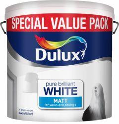 Dulux Matt 6L Special Value Pure Brilliant White
