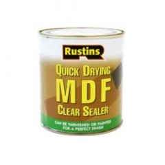 Rustins Quick Drying Mdf Clear Sealer 500Ml